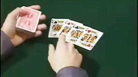 国外经典扑克魔术教学2