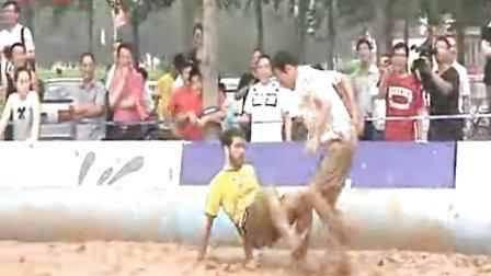 Fun in the Mud: Swamp Soccer Debuts in Beijing