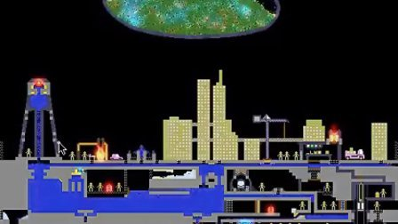 The Powder Toy 模拟核爆