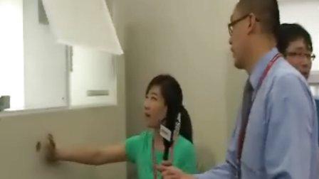 第15届国际厨卫展 中华橱柜网记者刘芳现场专访 中服富盛 总经理韩磊