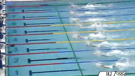 北京奥运游泳比赛男子50自-半决赛