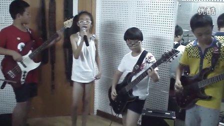 临安大秦琴行火精灵儿童乐队《Skater Boy》