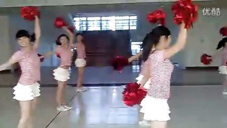 暨南大学管理学院10啦啦队美女排舞花絮