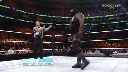 WWE.Money.In.The.Bank.2013  Mark Henry vs John Cena