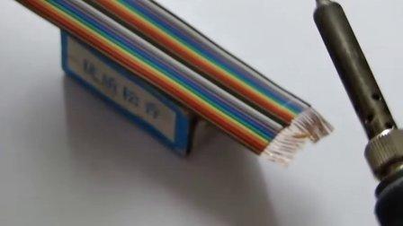 镀锡飞线的制作方法