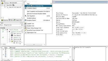 《深入浅出玩转FPGA》Lesson 30 基于M4K块配置ROM的字符数据存储VGA显示实验