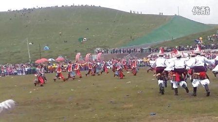 甘南藏族自治州建州60周年庆典(迭部县舞)