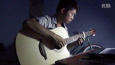【琴侣】吉他指弹《我的歌声里+always with me+卡农》