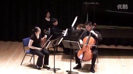 黎卓宇弹奏贝多芬三重奏(Archdue)