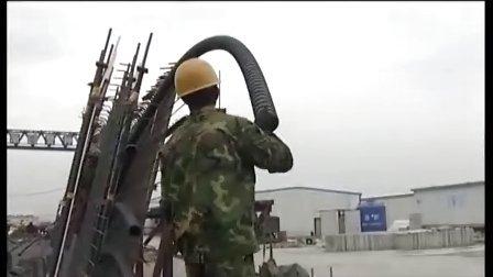 杭州湾跨海大桥50m箱梁施工录像