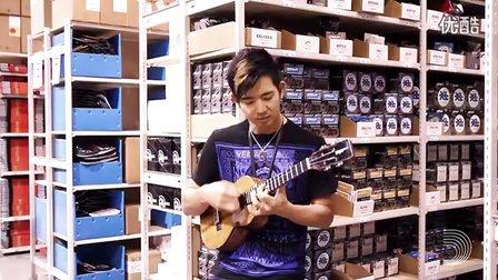 Jake Shimabukuro在达达里奥加拿大仓库精彩演奏