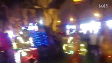 常州恐龙园夜场花车