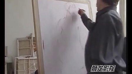 [岳飞激光洗纹身机]素描女人体示范1