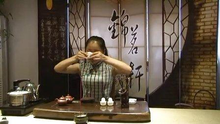 徐州锦茗轩茶艺培训中心李静乌龙茶茶艺表演