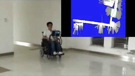 动态环境下交龙智能轮椅的在线路径规划与自主导航