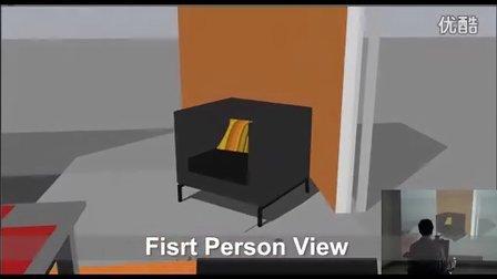 面向智能轮椅开发与训练的3D虚拟仿真系统