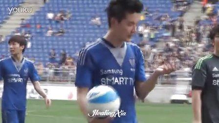 [HealingXiah]20130817 FC MEN公开赛 可爱的金俊秀小队长