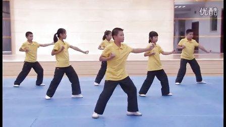 泉州飞扬篮球培训  泉州市小学生南少林五祖拳健身操
