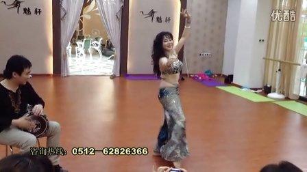 苏州魅轩,性感肚皮舞,韩国西米皇后金敏珠老师集训晚会