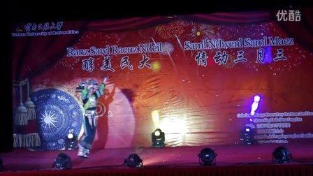 13壮族舞蹈-小壮壮【云南民大壮学会2013三月三晚会】