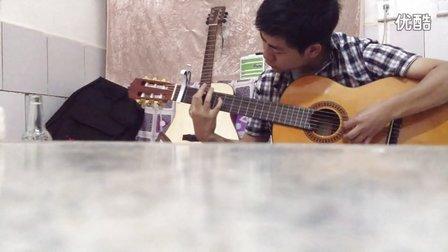 《蒙古人》吉他独奏练习版