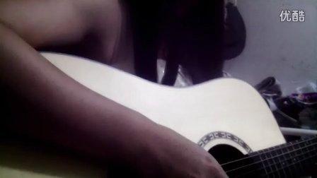 女孩吉他弹唱隐形的翅膀 纯属娱乐Q657536447交友