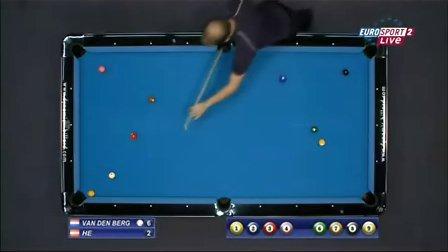 2011欧锦赛9球决赛 - 尼克·范登伯格vs马里奥·何