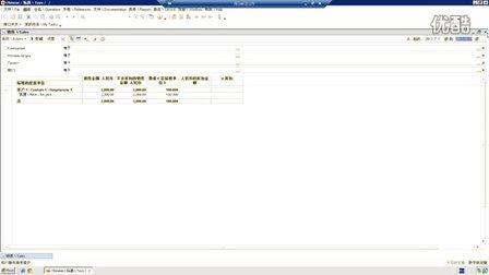 1C-ERP 报表