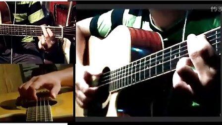 黑蜘蛛吉他教学从零起步教程第八节