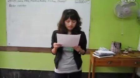 英语口语高级班-Missy班级英文诗歌创作大赛