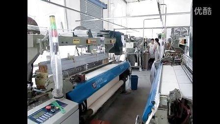 大中纺机DZ618数控毛巾剑杆织机毛巾厂家生产实录3