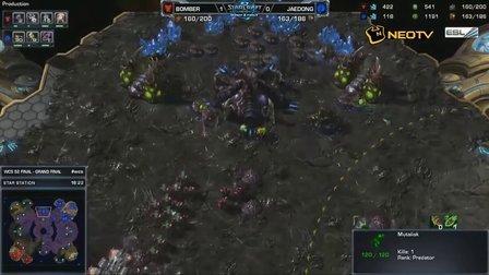 WCS第二赛季全球总决赛 决赛 Bomber vs Jaedong