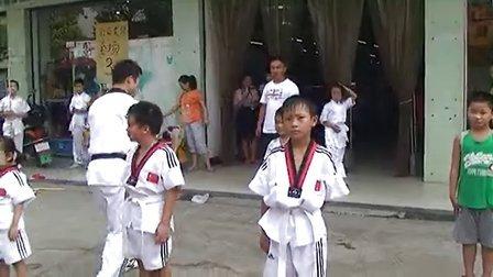 2013年临澧涂氏家族武术短期培训班汇演