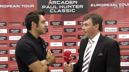 Paul Hunter Classic Ronnie O'Sullivan with Jason Ferguson