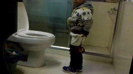 2周岁半自己尿尿
