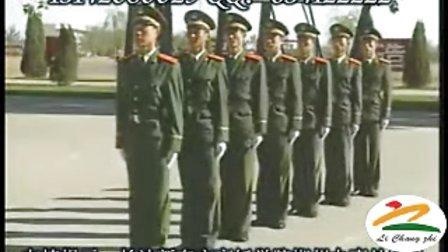 武警部队队列教员集训示范动作 军训 队列条令 队列训练 示范动作