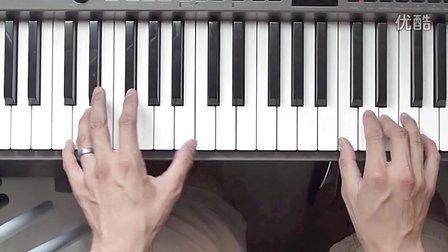 钢琴速成教程 第一课:弹基本的和弦《轻轻听》