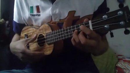 ukulele 卡农2