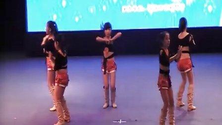 蒲公英舞蹈大赛快乐女生