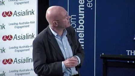 Martin Jacques 马丁·雅克 墨尔本大学演讲 中国的崛起