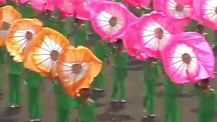 元氏县教育局代表队参加2009石家庄市中学生田径运动会开幕式
