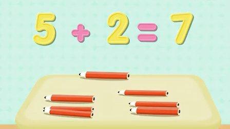 哈利算术歌:1到5加2