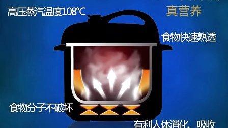 奔腾壹拍专卖店 Povos/奔腾 FE518 电压力锅 压力煲 营养蒸