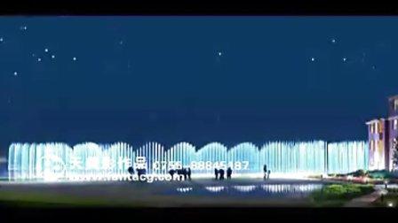 天美影作品-阳澄湖喷泉动画