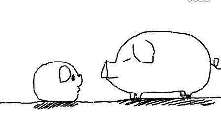 两只猪的对白
