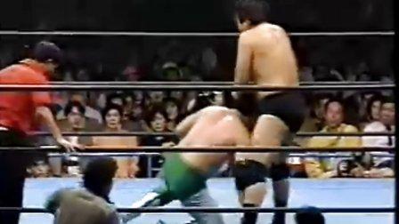 1992.04.02 全日本摔角 Jumbo 鶴田 vs 三澤光晴(Champions Carniv