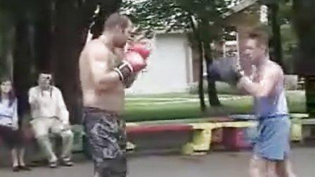 """【侯韧杰 MMA  精华篇】之 地球上的""""单挑王""""菲多!"""
