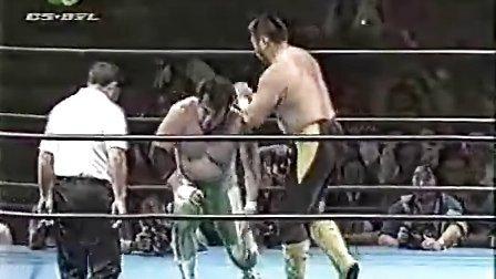 1998 全日本摔角 三沢光晴 vs 川田利明(CC)
