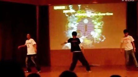 钦州二中街舞—机械