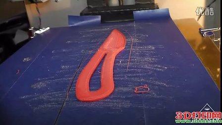 3D打印机打印全过程